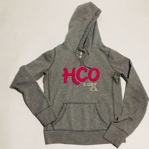 Hollister Logo Graphic Hoodie Size S